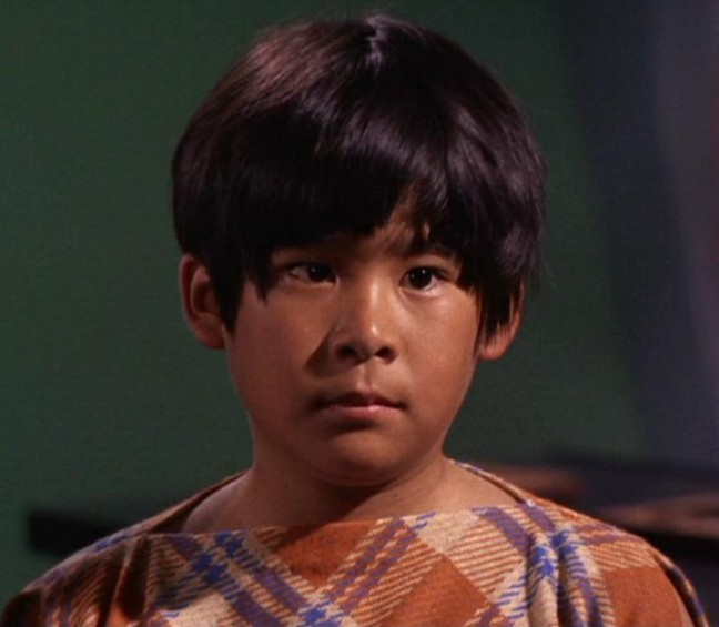 "Brian Tochi as Ray In the original ""Star Trek"" series."