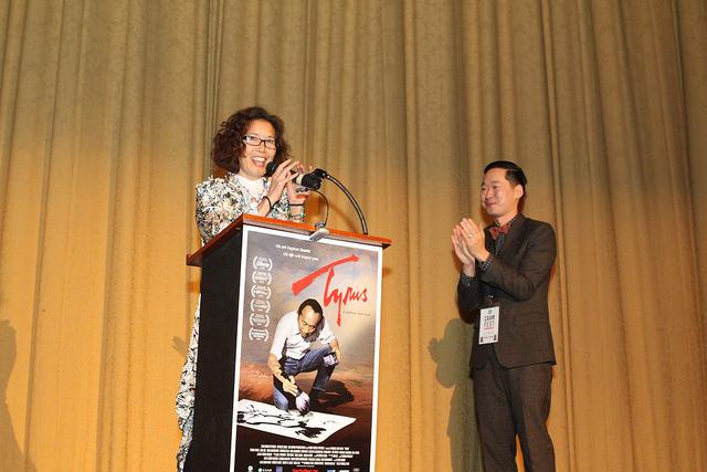 """TYRUS"" Director Pamela Tom. Photo by Leanne Koh."