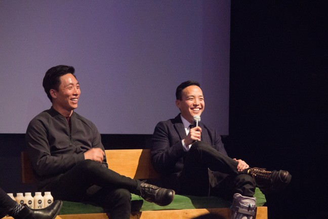 Alan Yang and Kelvin Yu of Master of None. Photo by Ayana Cariaso