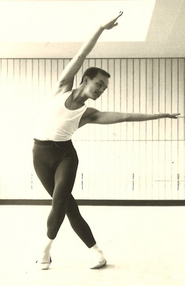 Carlos Carvajal as a young ballet dancer. Photo courtesy of Carlos Carvajal.