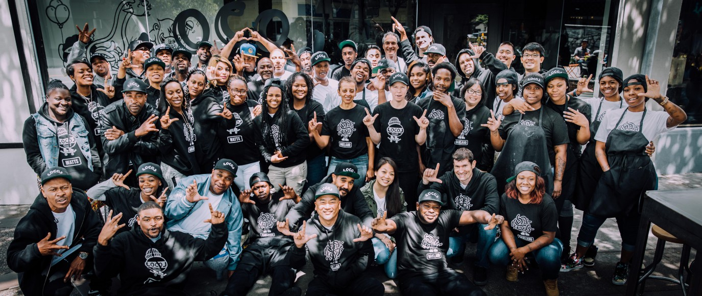 The Oakland LocoL team. Photo by Audrey Ma, courtesy of LocoL.