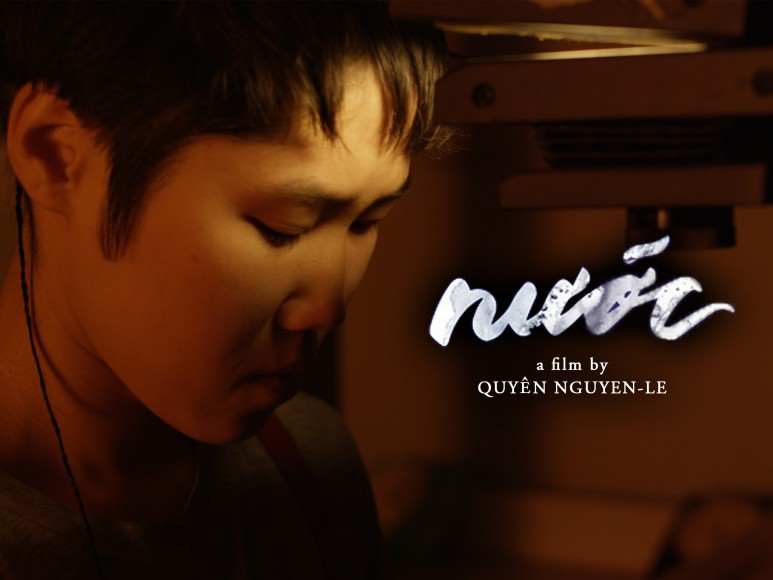 Set in the California Drought, Nước (Water/Homeland) is an experimental narrative short film about a queer Vietnamese American teen who attempts to piece together and understand their mom's experience as a Vietnam War refugee. The journey pulls us into a fantastical series of iconic historical photographs, ultimately highlighting the complexity of understanding another's experiences completely and instead opening up possibilities for building relationships based on being presence and co-existence.