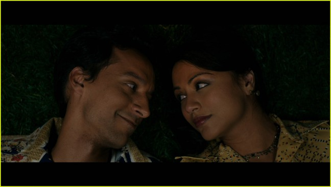 """Danny Pudi and Karen David co-star in Lena Khan's """"The Tiger Hunter,"""" opening in theaters Friday, September 22, 2017."""